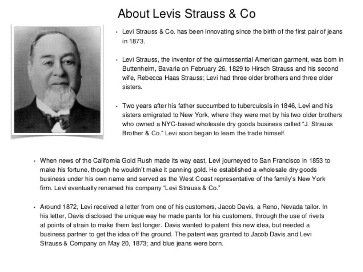 "globalization of levi strauss essay Levi strauss, the manufacturer of what does the levi strauss story tell you about the ""globalization of markets"" will complete your papers in 6 hours."