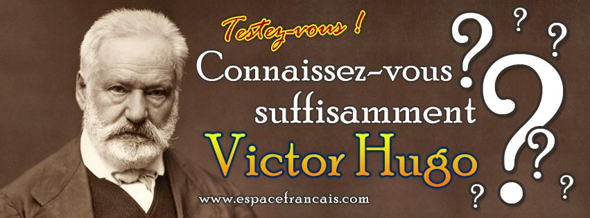#Test : Connaissez-vous Victor Hugo ? ►  http://www. espacefrancais.com/quiz/divers/vi ctor-hugo/quiz.htm &nbsp; …  ◄ #Français #FLE #Exercice #Quiz #Littérature #Hugo #VictorHugo #26février<br>http://pic.twitter.com/qTde6Jwpn4