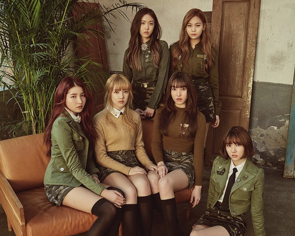 G-Friend goes with a military theme in first concept photos for comeba...