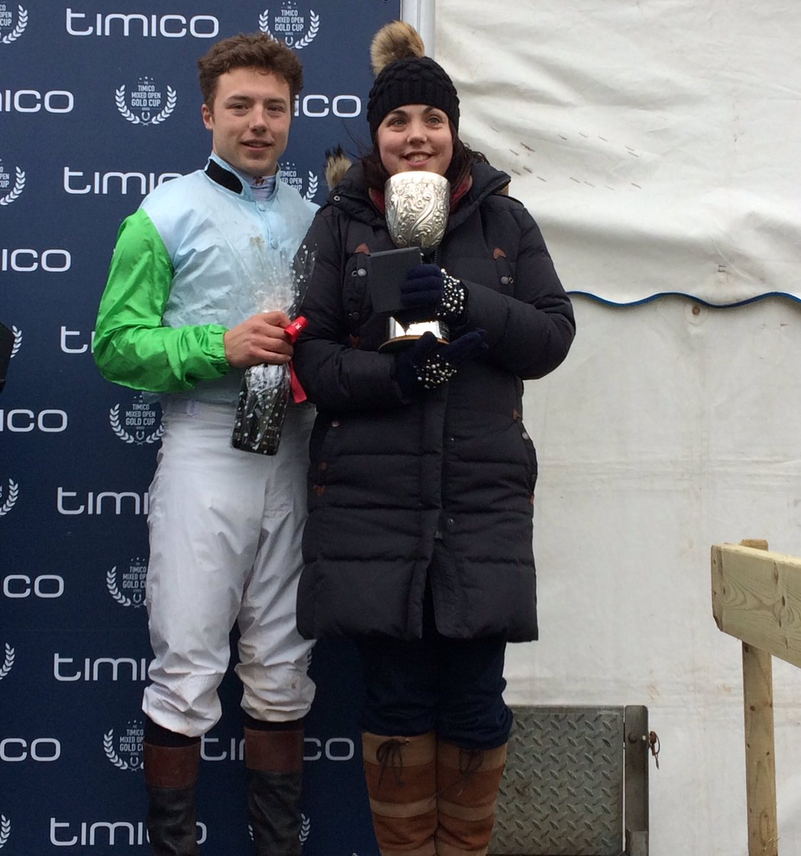 Well done to my son Peter riding his first point to point winner today on Station Master, owned by my daughter. Bought of the great Ronnie