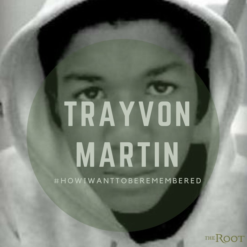 #TrayvonMartin was a teen who took English honors classes and he also...