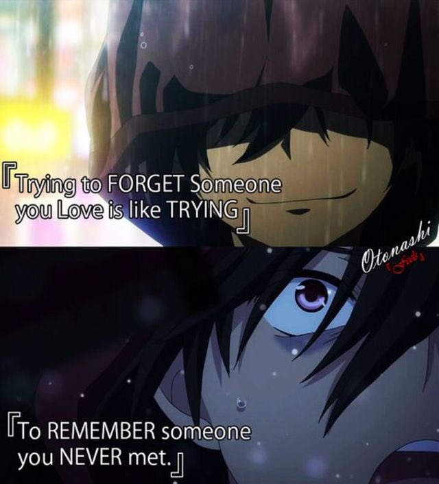 Anime Characters Catchphrases : Anime funny art on twitter quot trying to forget someone you