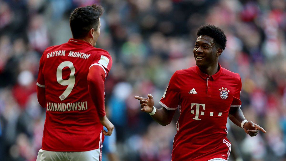 Our favorite photos from #FCBayern's historic 8-0 win yesterday!  📸 ht...