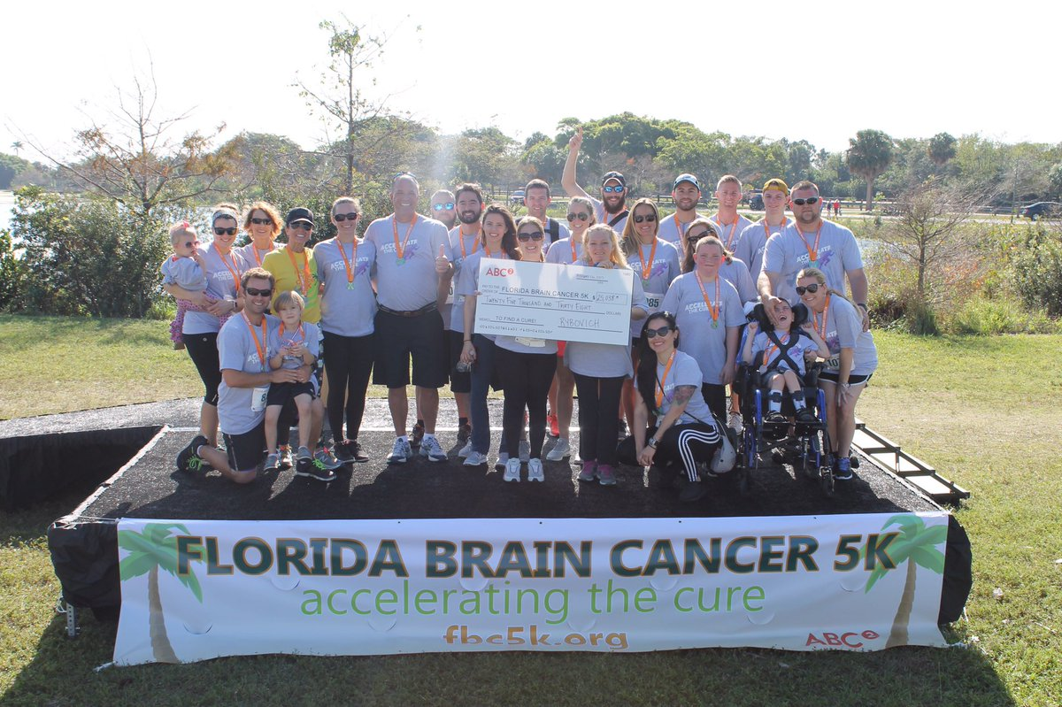 We had an incredible morning at #FBC5k 2017! Thank you to everyone who came out & supported this amazing cause.#RyboLife #BrainCancer #5krun