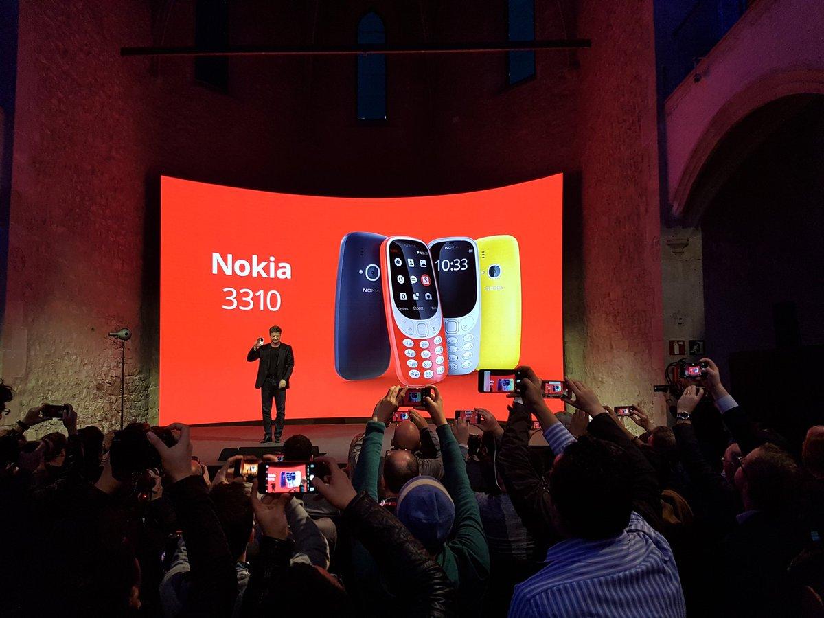La voilà l'annonce qu'on attendait. Le Nokia 3310 est de retour. 'Il a Snake ! Et il a la sonnerie de Nokia !'