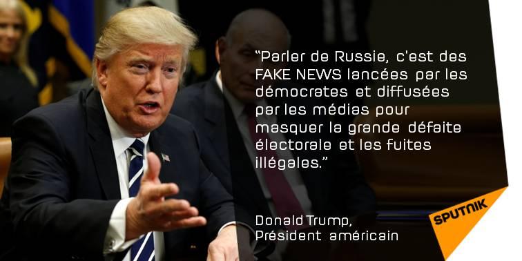 #Trump dément ses liens avec Moscou, accuse les #démocrates et les #médias de «#FakeNews» &gt;&gt;  http:// sptnkne.ws/dDzE  &nbsp;   #EtatsUnis #Russie<br>http://pic.twitter.com/WJcRgdBurs