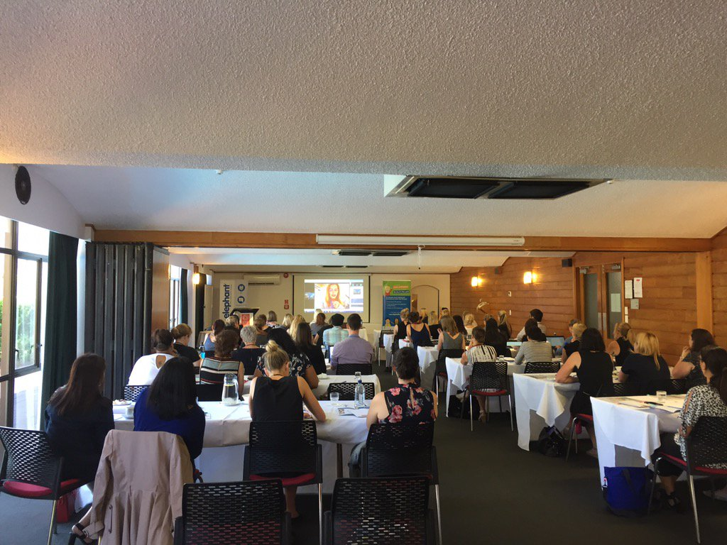 Penelope Barton @vendhq dialling in Canada. Radical HR! Live core values! Be unique! Influencing NZ HR! #HRAConf17 https://t.co/YqTp5Pymok