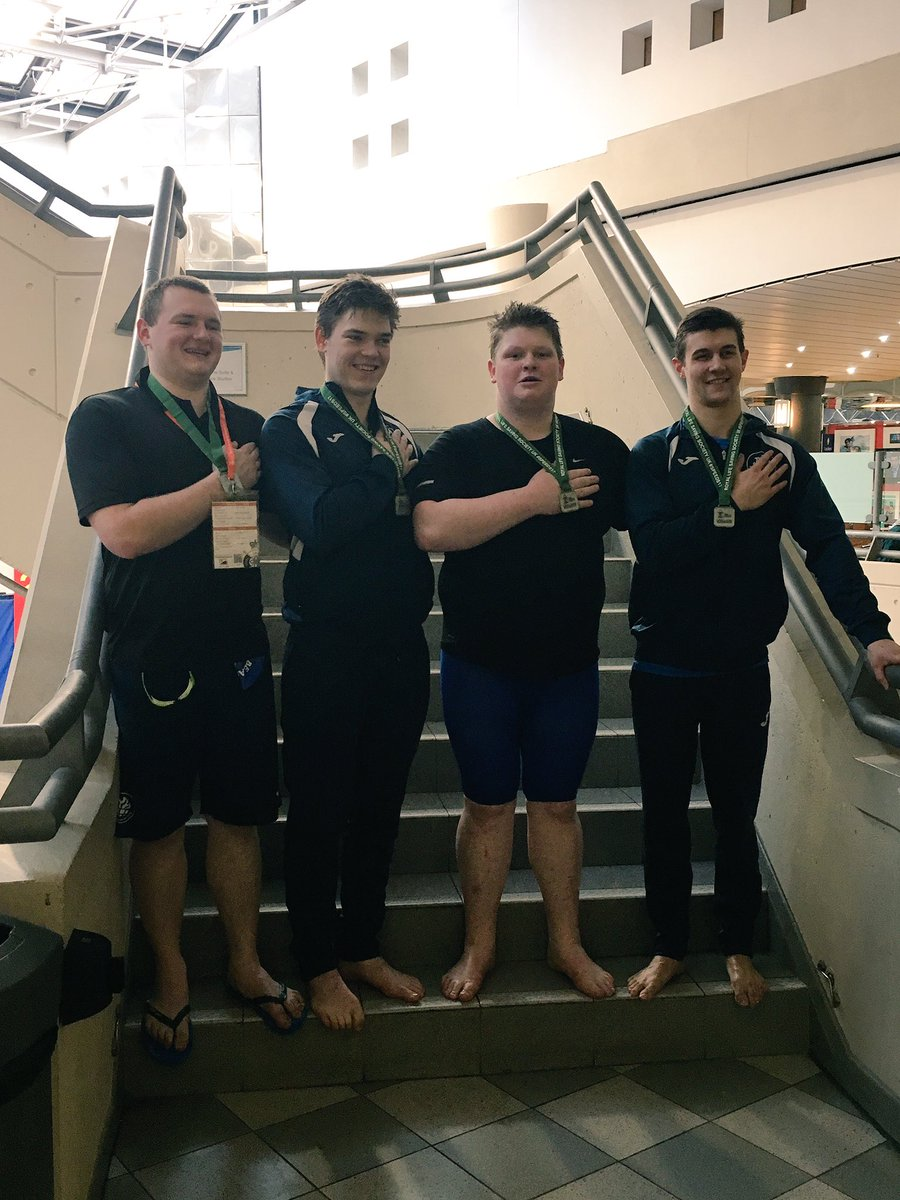 Some of our open boys with their silver medals for the rope throw relay! #fouryearsinthemaking #gotthereintheend #beaconlsc #speeds2017