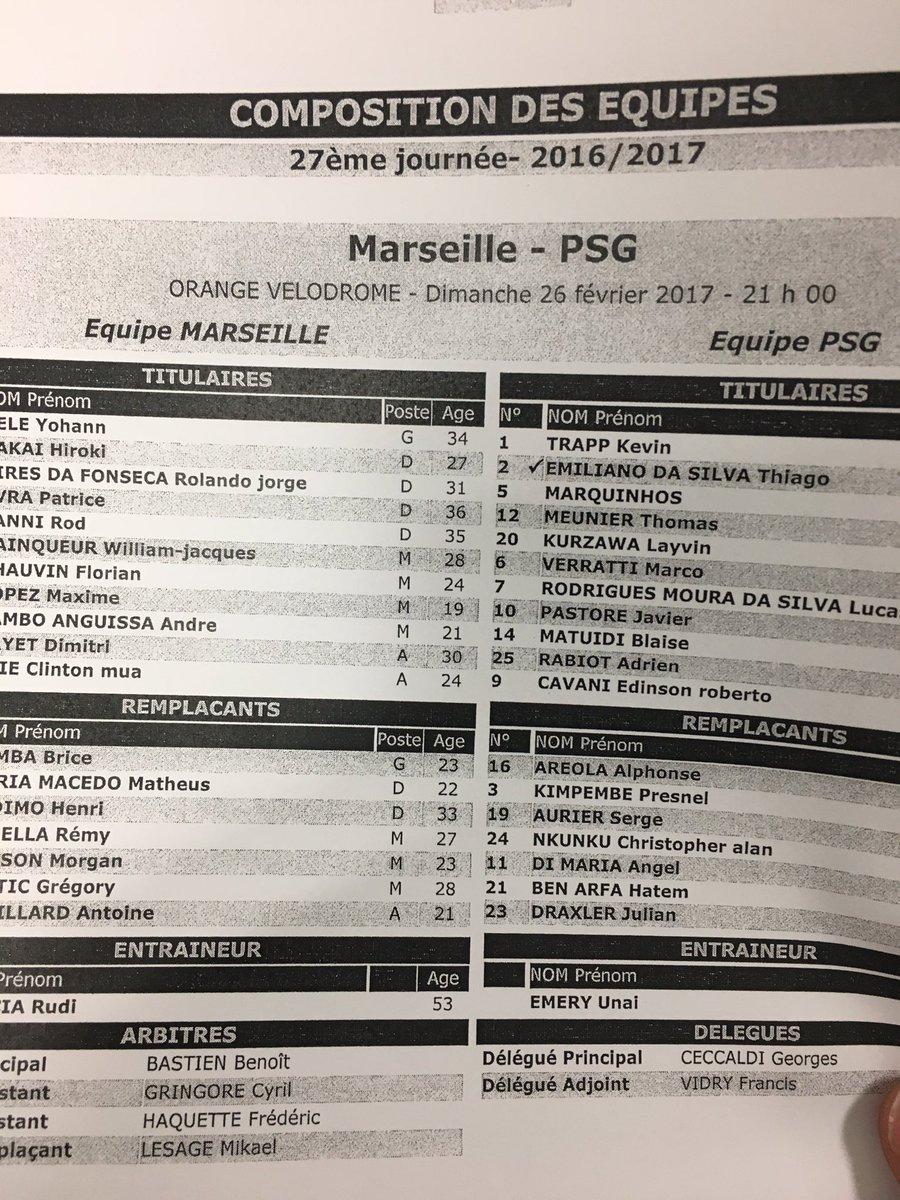 [OM - Paris] Marseille en sera-t-il capable ? {1-5} C5nQirSXQAQQGPc