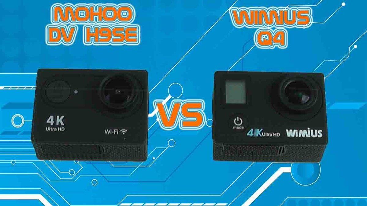 #Duel d&#39;action cam 4k WiFi / #WiMiUS Q4 vs #Mohoo H9 #versus #GoPro #Test #review #amazon  Video :  http:// crwd.fr/2mqqqLF  &nbsp;  <br>http://pic.twitter.com/hMmvsPngYB