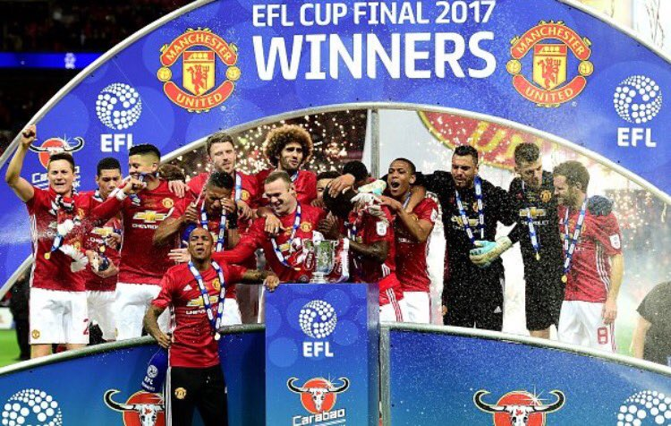 🏆 winners #EFLCupFinal 😊😊 #MUFC https://t.co/P84RnwtZh4