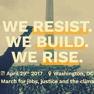 [ÉLECTIONS]  Les civil militants @UNFCCC  en force à Nantes WE #RESIST WE #BUILD WE #RISE @PeoplesMarchRdg #ClimateAction April 29th <br>http://pic.twitter.com/0zUhvUnvIs