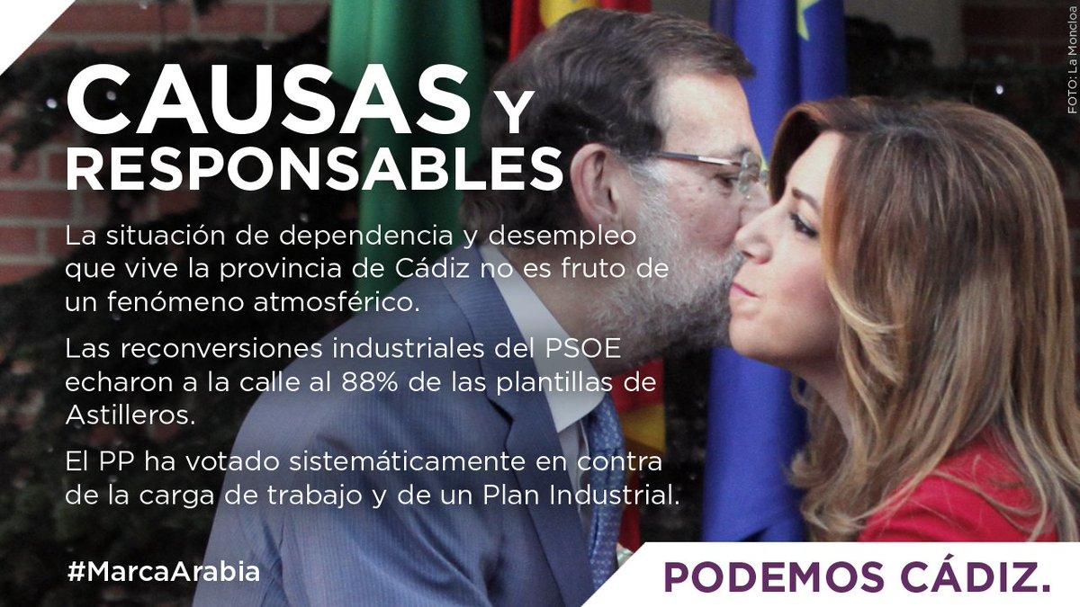 El desempleo en Cádiz no es casualidad. Tiene causas y responsables: l...