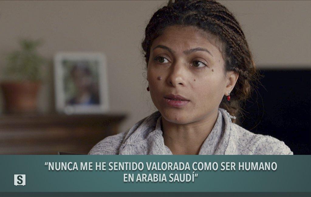 """""""De mi país sólo echo de menos a Raif…"""" Ensaf llega a una conclusión c..."""