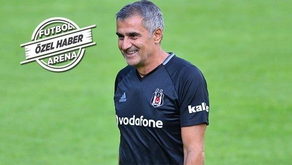 SON DAKİKA! Şenol Güneş son kararını verdi! Beşiktaş'ın derbi 11'i......