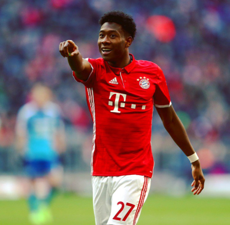 Great game yesterday, @David_Alaba! https://t.co/L4TpHpKEV0