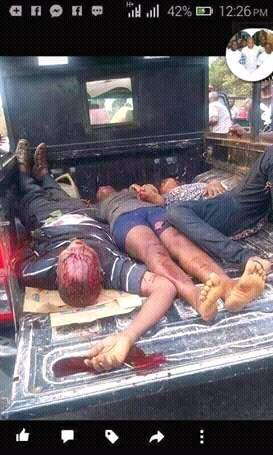 Brig. Abubakar of Nigeria defence deny of military releasing one shot during #TrumpInauguration rally in #Biafra where more than 250 killed<br>http://pic.twitter.com/wYiOgCzS7D