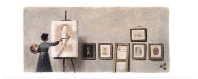 Mihri Müşfik Hanım Google tarafından Doodle oldu!  https://t.co/7eddst...