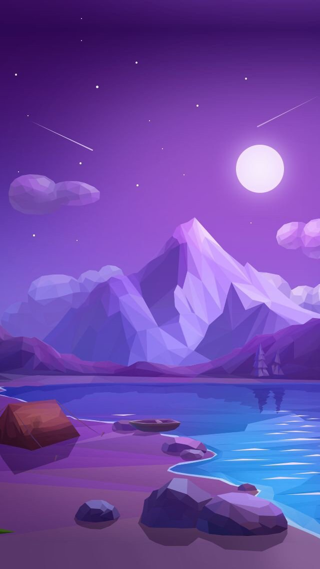 Low Poly Wallpapers En Twitter Beautiful Low Poly Camping