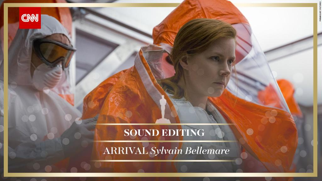 'Arrival' wins Best Sound Editing, 'Hacksaw Ridge' wins Best Sound Mix...