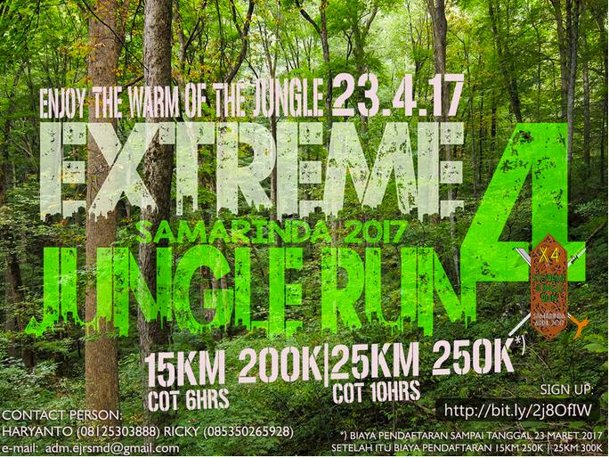 Extreme Jungle Run 4 • 2017