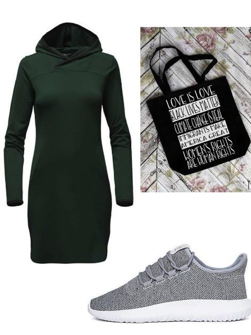 Empower Hooded Dress #ootd #fashionpost #style #lookbook