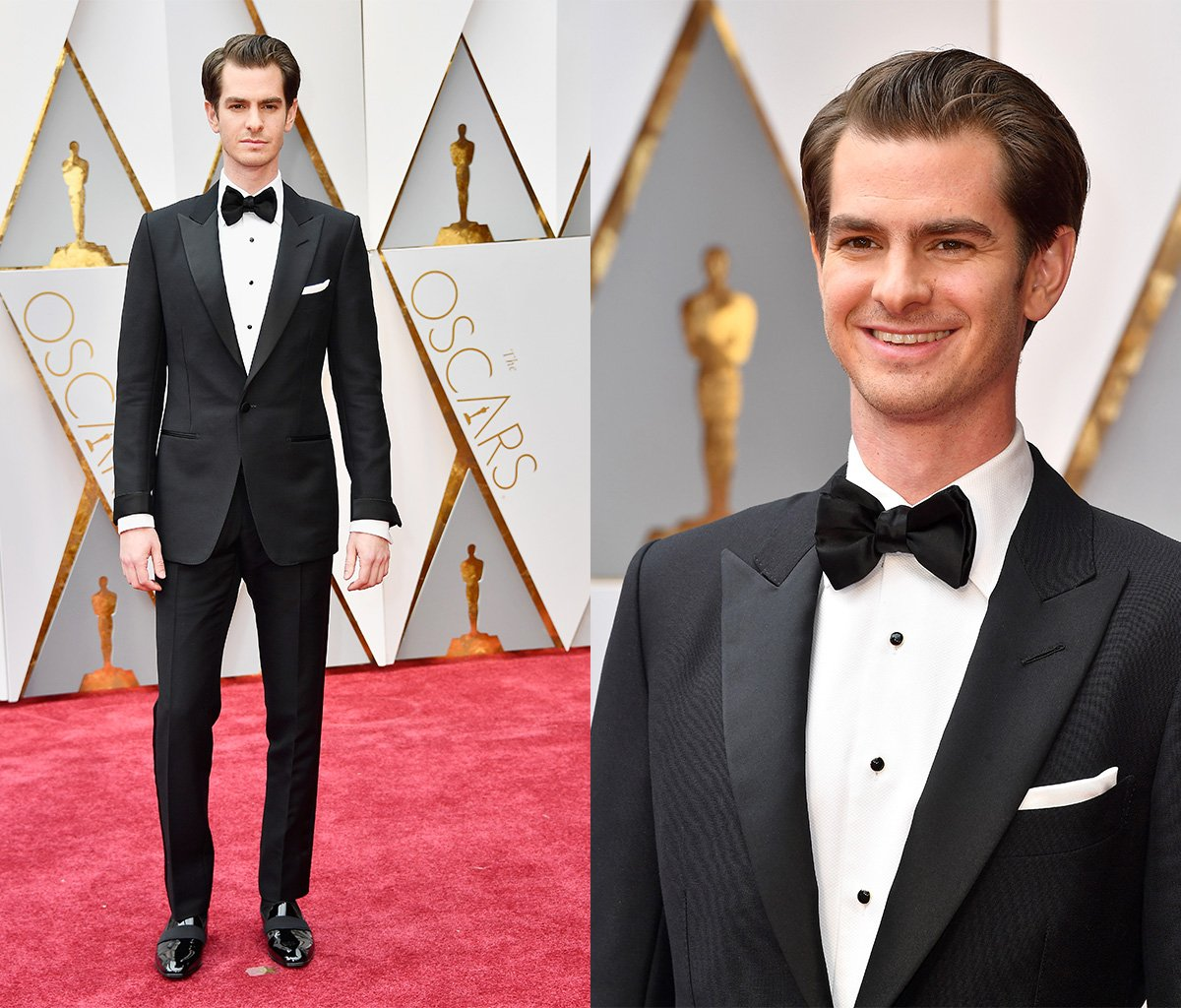 RT @InStyleMag: Nominated for @HacksawRidge, #AndrewGarfield is looking mighty dapper #Oscars https://t.co/bHlCq0FRMU