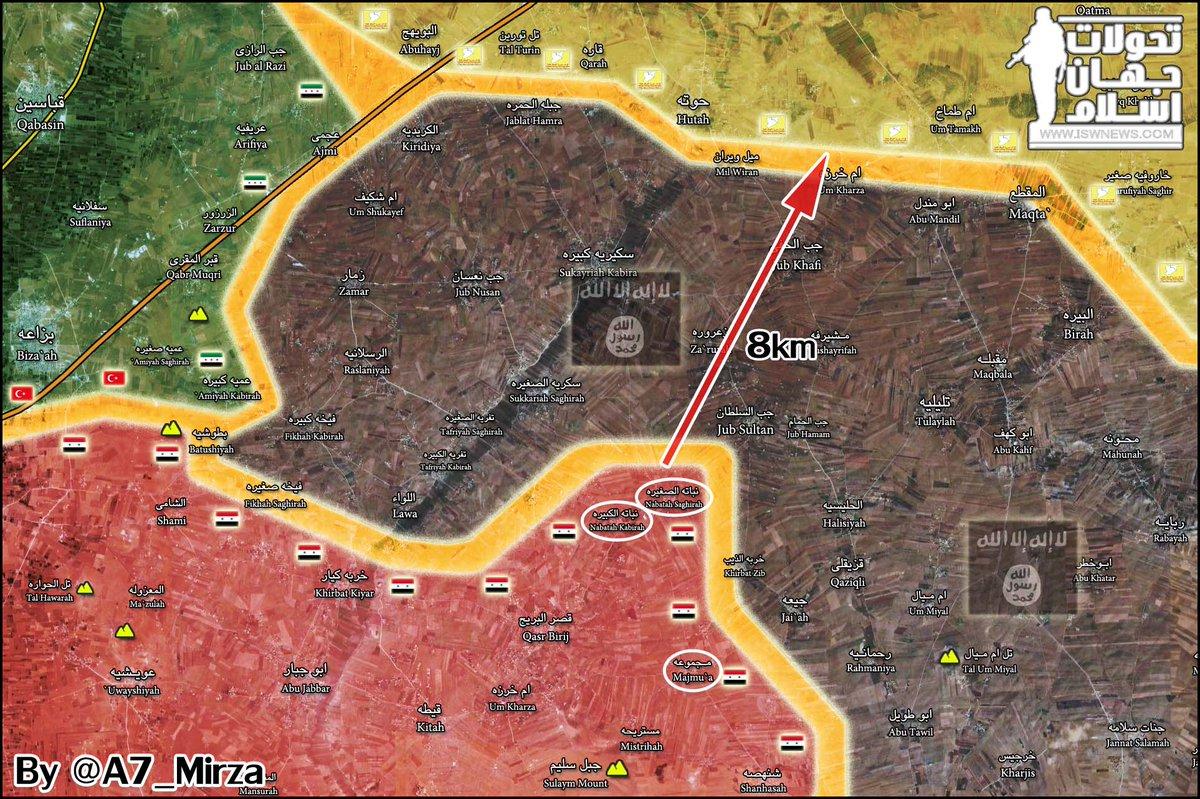 Закрыта дорога туркам к Ракке