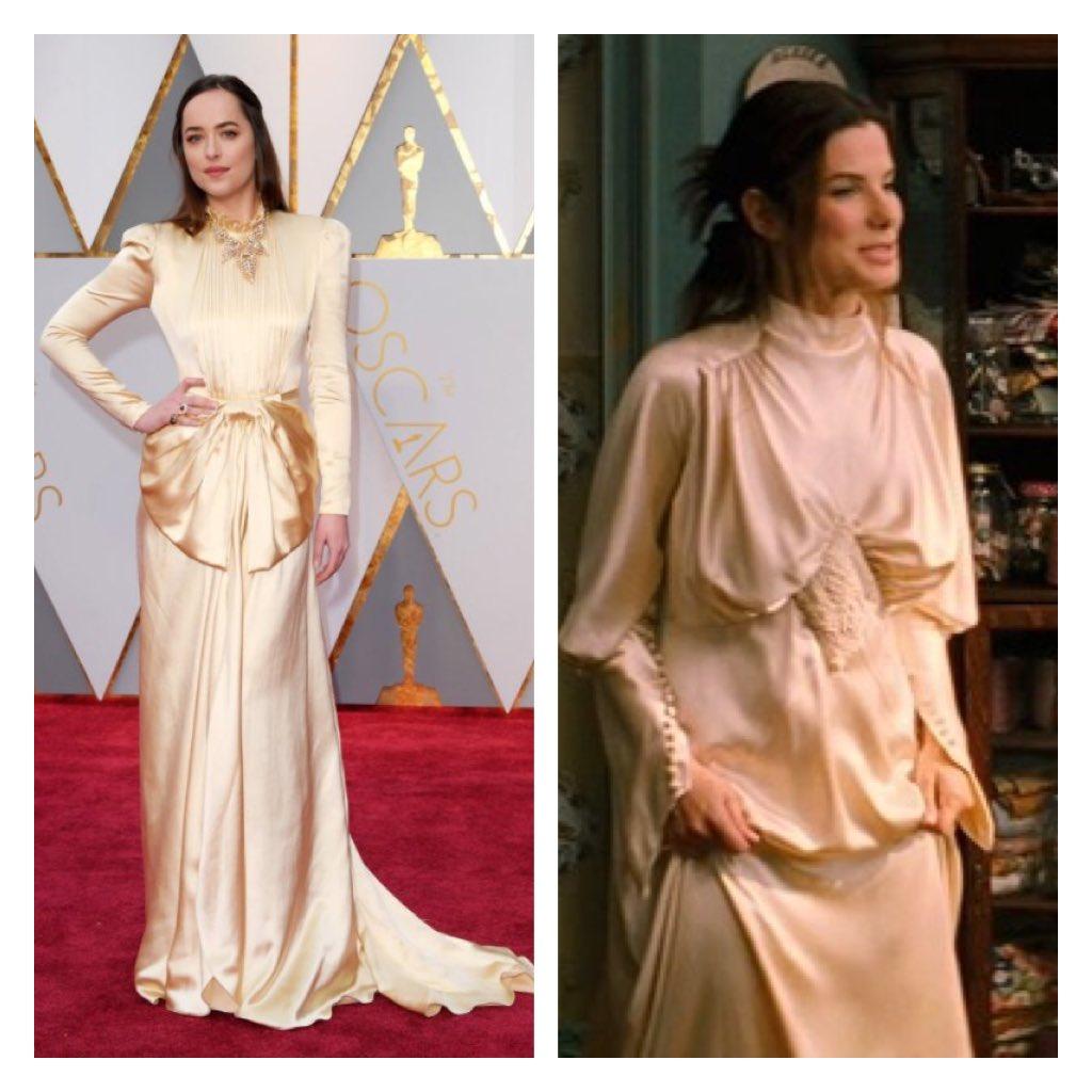 Alex Romano On Twitter Dakota Johnson Is Looking Very Sandra Bullock In The Proposal Wedding Dress Oscars