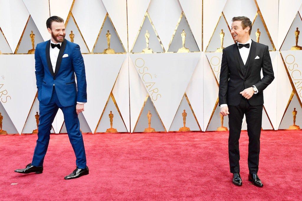¿Chris Evans y Jeremy Renner? ¿Con cuál os quedáis? #Oscars https://t....