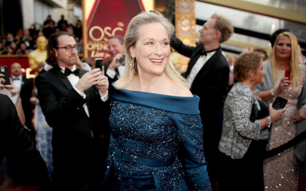 La donna. #MerylStreep #Oscars2017<br>http://pic.twitter.com/nATeA3U7NP
