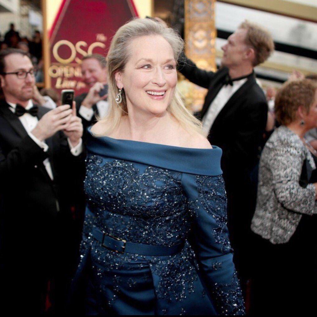 20ème nominations... #MerylStreep #ElieSaab #RedCarpet #Oscars   <br>http://pic.twitter.com/93dYZlhAty