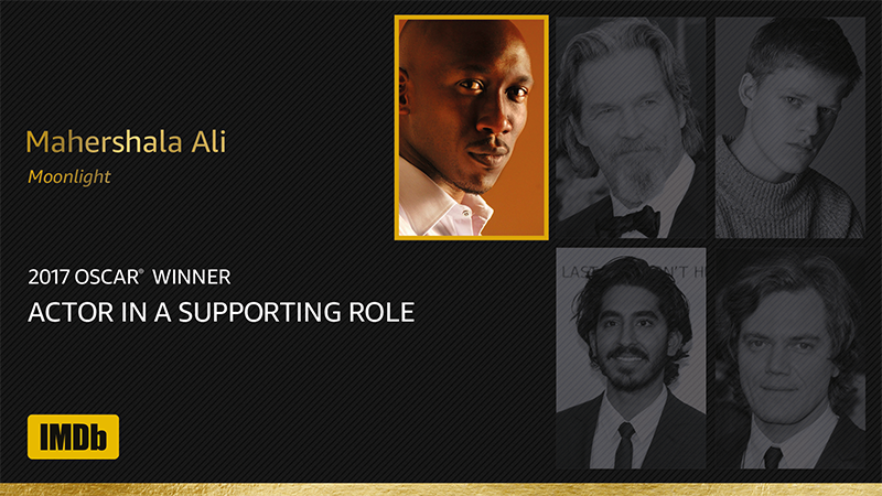 And the winner for best Actor in a Supporting Role is Mahershala Ali https://t.co/ZnehkAKUEK https://t.co/YqXSwbXXdt