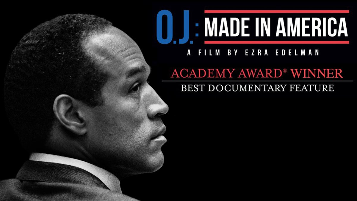 And the Oscar for Best Documentary Feature goes to: @OJMadeInAmerica! https://t.co/ePtKrC0liG