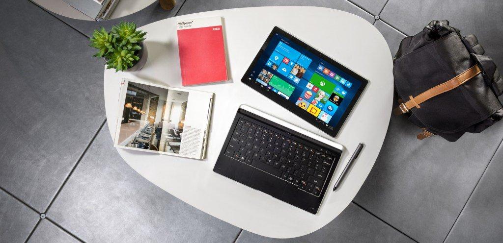 #MWC2017: Alcatel introduces 4G LTE Windows 2-in-1: PLUS 12 https://t....