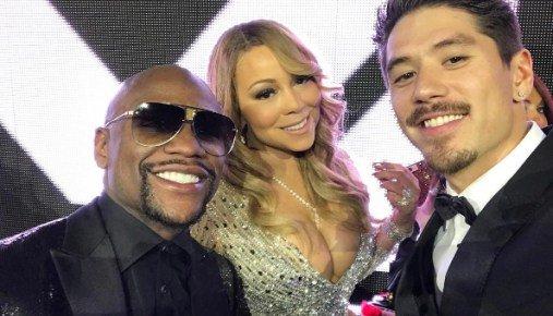 Mariah Carey canta Happy Birthday a FloydMayweather