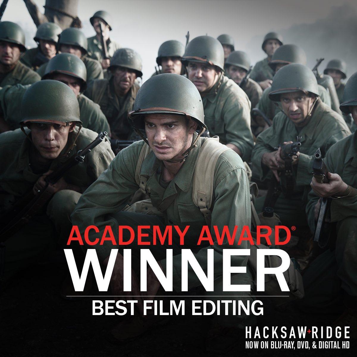 "Colorado Film School: Hacksaw Ridge On Twitter: ""Congratulations To John Gilbert"