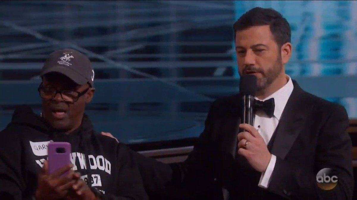 #GaryFromChicago was #Winning at the #Oscars