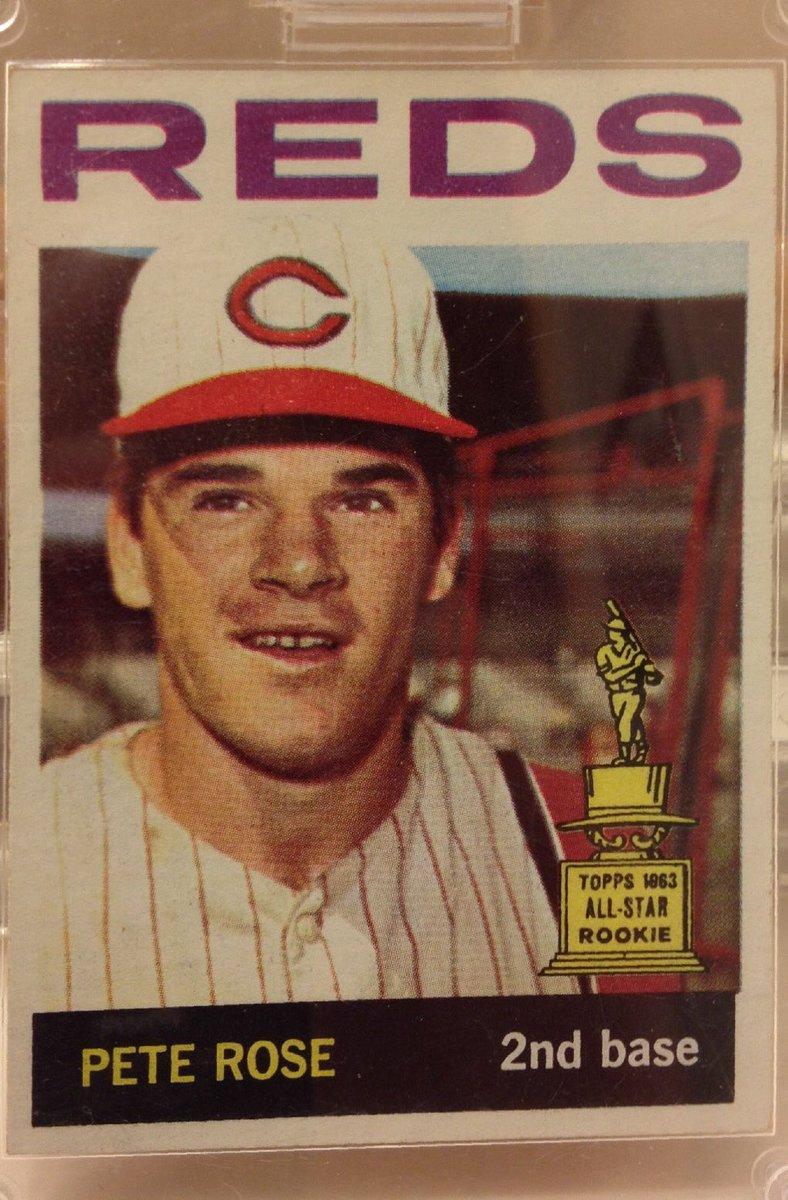 FOR SALE $125 obo: 1964 Topps Pete Rose card #125 DM if interested. #baseballcard #peterose #topps #baseball <br>http://pic.twitter.com/DuSH5Yhegy