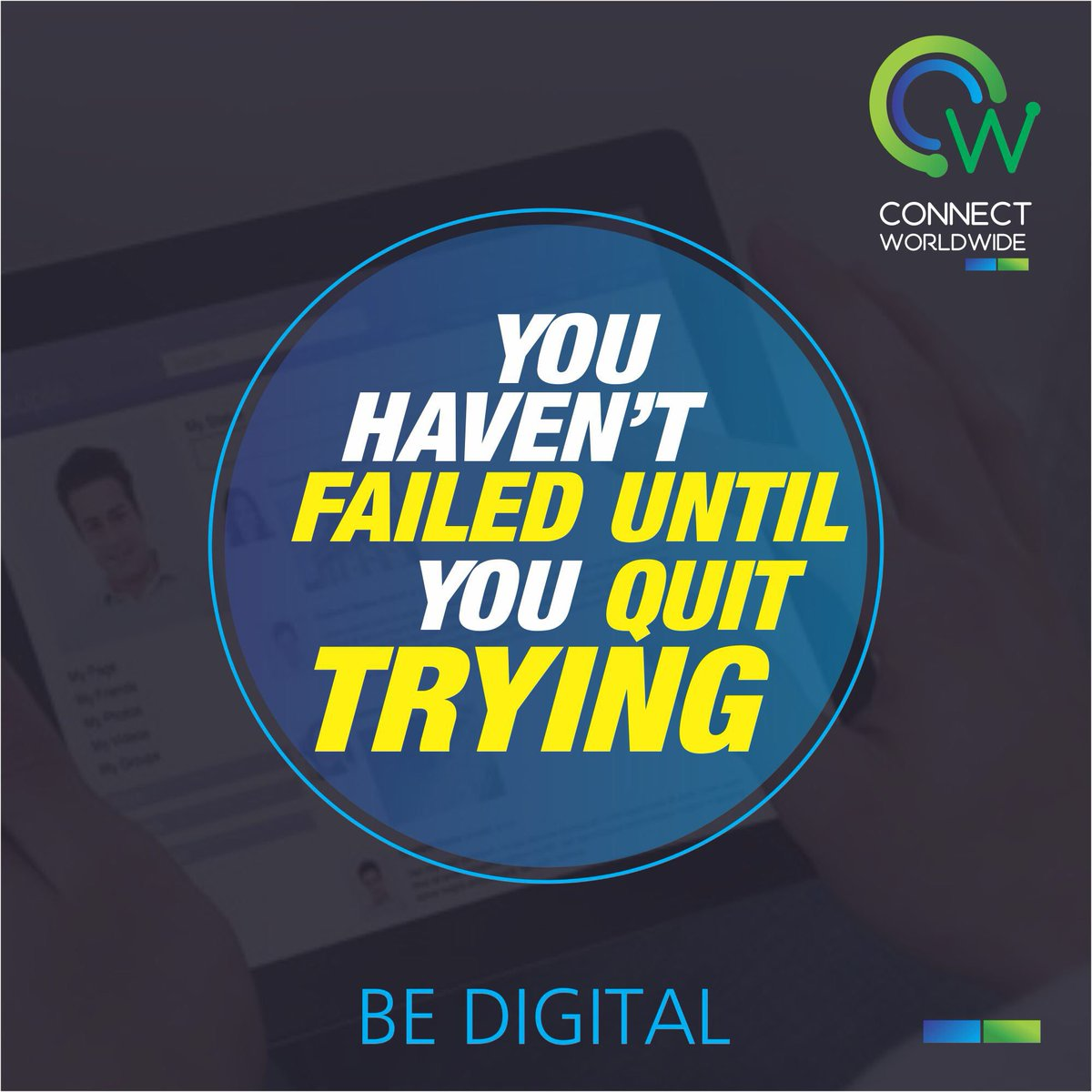 So keep trying until you #succeed #MondayMotivation #BeDigital https:/...