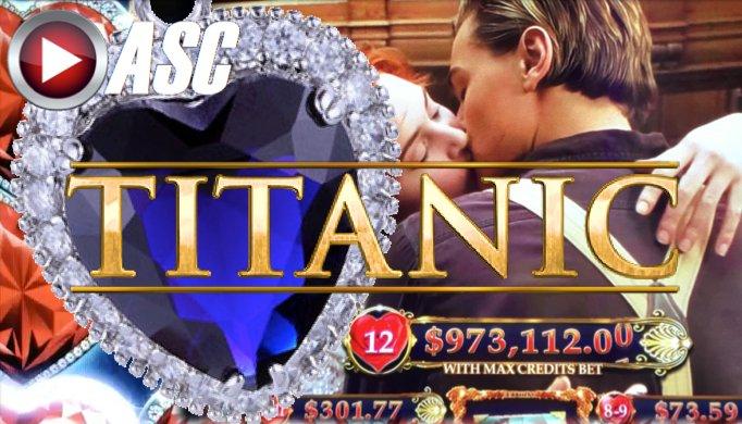 titanic slot machine