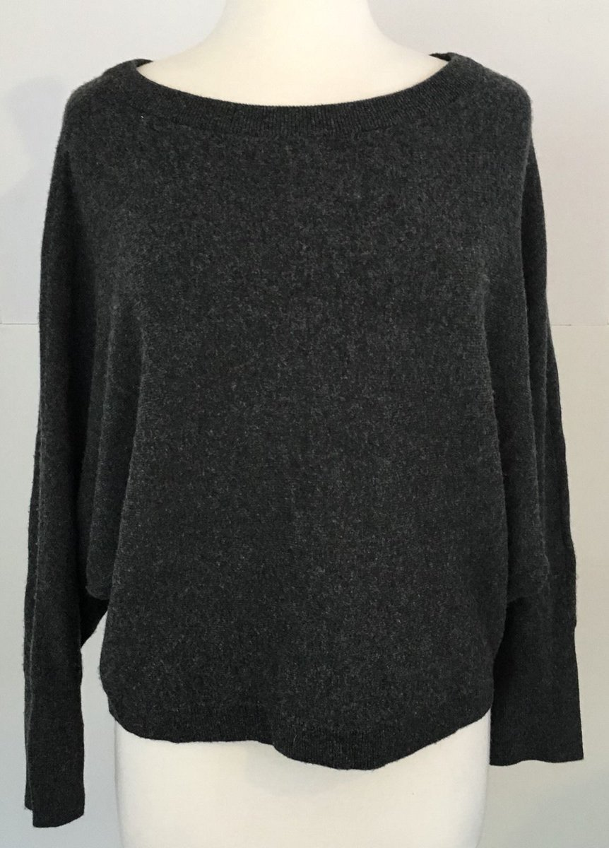 Vince Women&#39;s Cashmere dolman sleeve Charcoal Gray Sweater XS #Vince #BateauNeckline  http:// ebay.to/2mgMmfq  &nbsp;   via @eBay<br>http://pic.twitter.com/qD2TEFkiy1