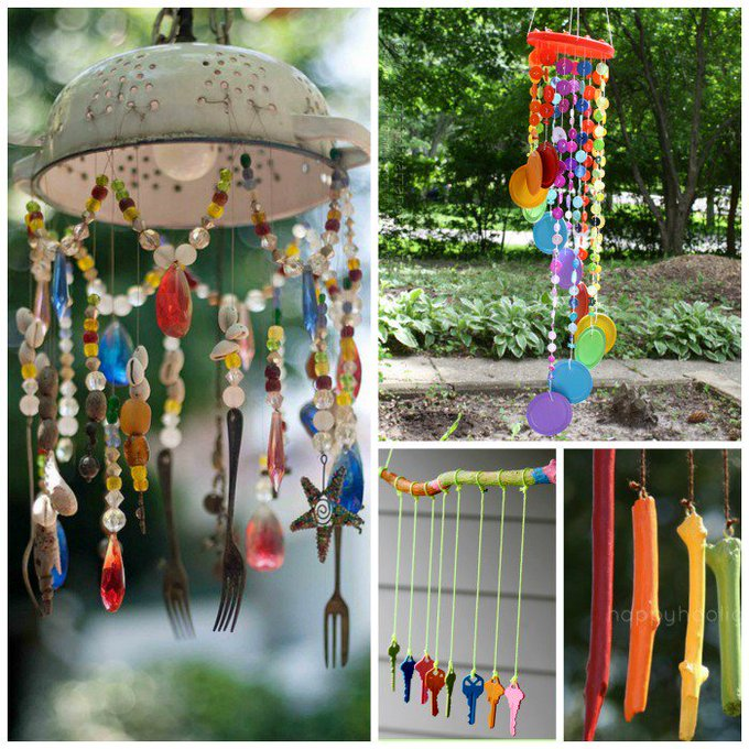 Wind Chime Crafts for Kids