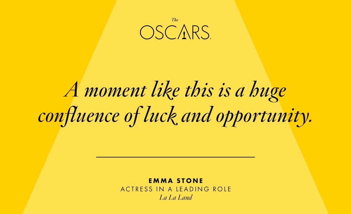 Well said, Emma Stone. #Oscars https://t.co/pbC1aYoo4W