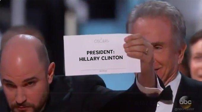 hillary wins