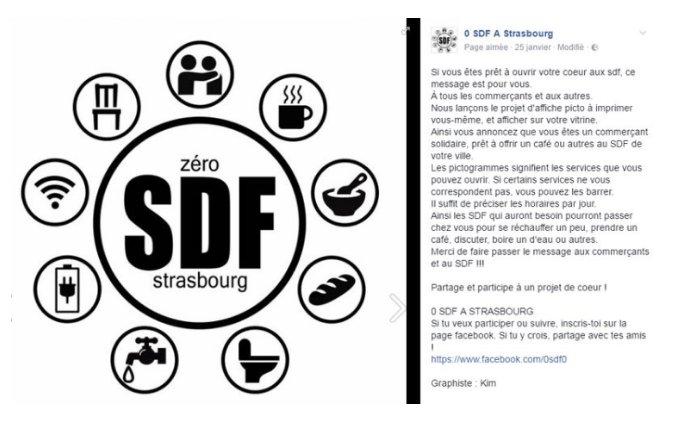 #Repas, #café, #discussion Déjà une dizaine d&#39;adresses ouvrent leurs portes aux sans-abri à #Strasbourg !   http:// bit.ly/2l37J3F  &nbsp;  <br>http://pic.twitter.com/W0BCT9ZhAv