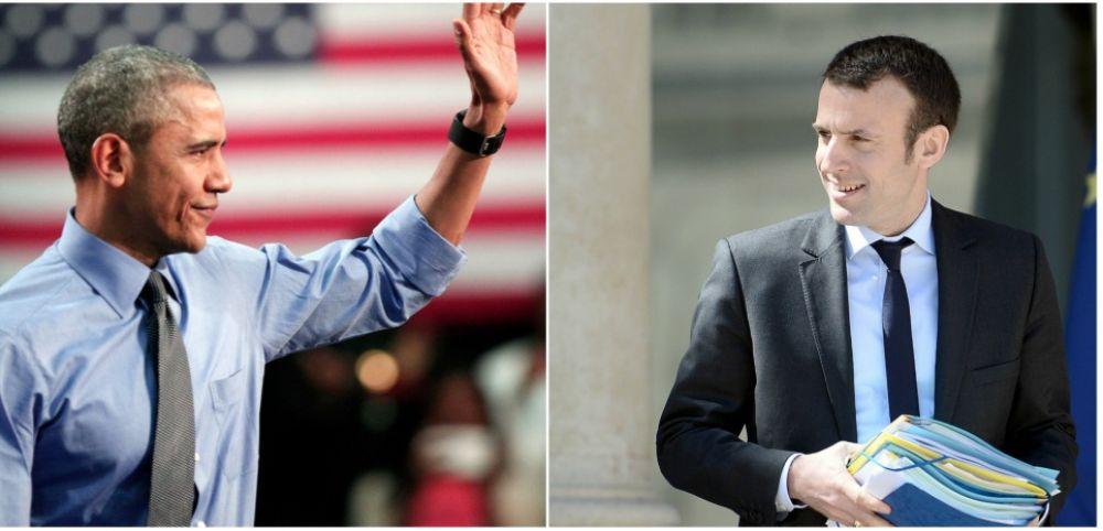 Pour Laurence #Haim porte parole d&#39;Emmanuel #Macron, &quot;EM est le Obama de France&quot; #ComPol via @GG_RMC  cc : @lauhaim<br>http://pic.twitter.com/i8doXlPLMO