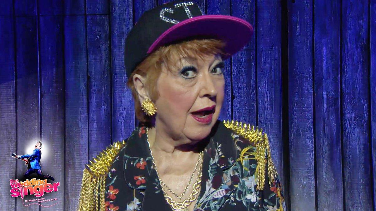 The Wedding Singer On Twitter Ruth Madoc As Rosie Robbies Grandmother Has Crowd In Hysterics Read More Below Bellebridalmag