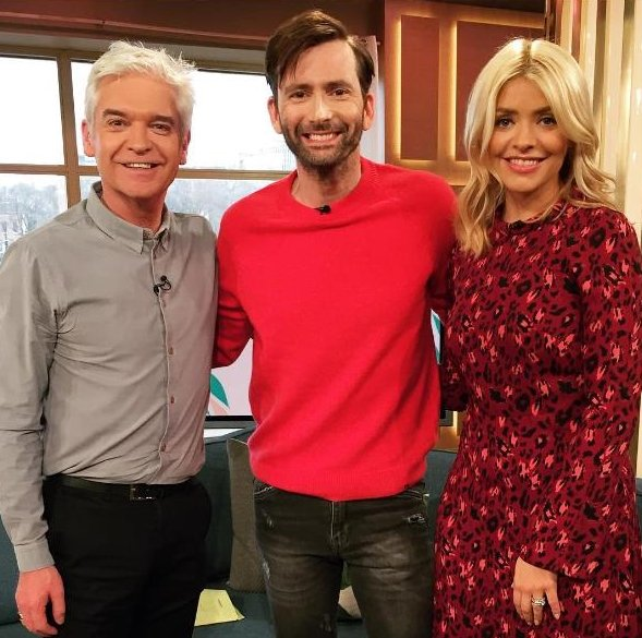 David Tennant on This Morning - 27/2/17