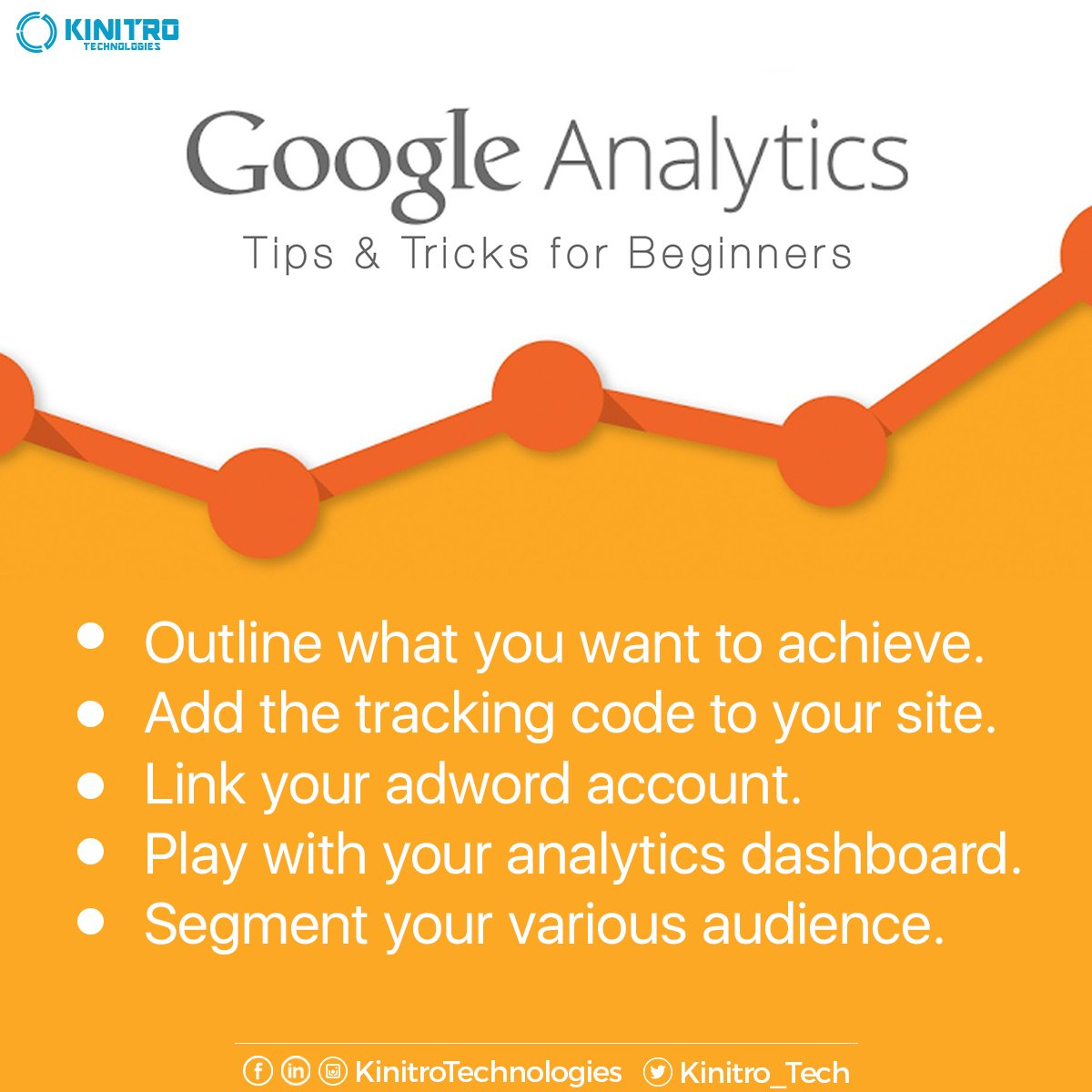 Use Google Analytics tricks to Grow your Business and Re-Target your preferred Audience. #DigitalMarketing #GoogleAnalytics https://t.co/E1wVnfx3ZJ
